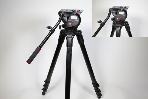 Manfrotto 536 Stativ mit 509HD